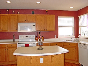 kitchen with point and shoot